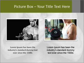 Muscled male PowerPoint Templates - Slide 18