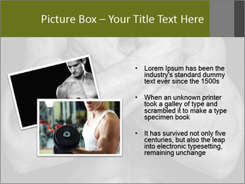 Muscled male PowerPoint Templates - Slide 20