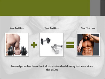 Muscled male PowerPoint Templates - Slide 22