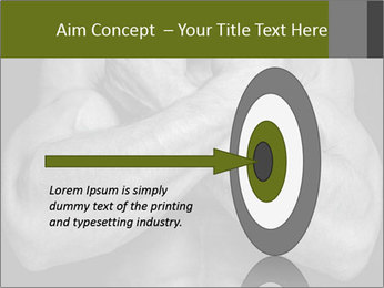 Muscled male PowerPoint Templates - Slide 83