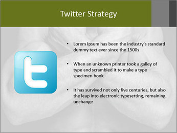 Muscled male PowerPoint Templates - Slide 9