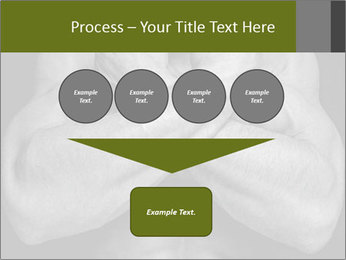 Muscled male PowerPoint Template - Slide 93