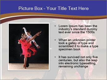 Latino dance couple PowerPoint Templates - Slide 13