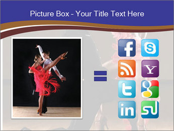 Latino dance couple PowerPoint Templates - Slide 21