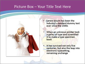 Cute happy cheerleader PowerPoint Templates - Slide 13