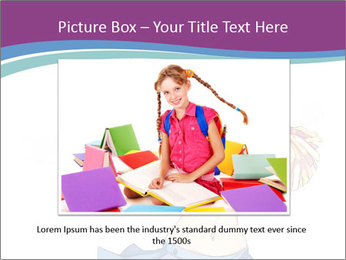 Cute happy cheerleader PowerPoint Templates - Slide 16