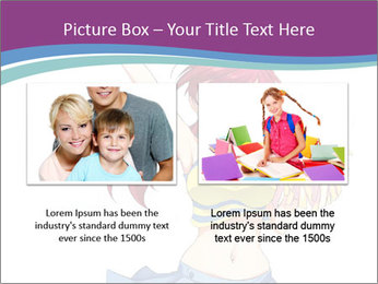 Cute happy cheerleader PowerPoint Templates - Slide 18