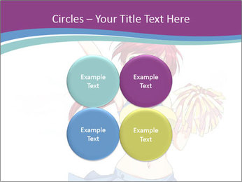 Cute happy cheerleader PowerPoint Templates - Slide 38