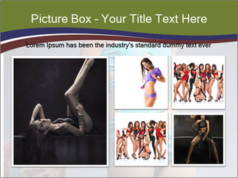 Beautiful fashion woman PowerPoint Template - Slide 19