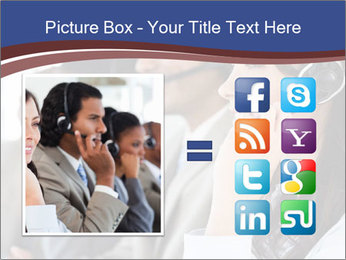 Young employee PowerPoint Template - Slide 21