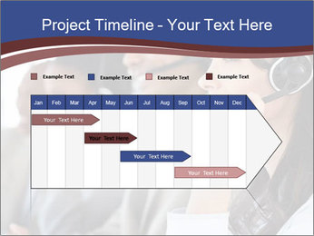 Young employee PowerPoint Template - Slide 25