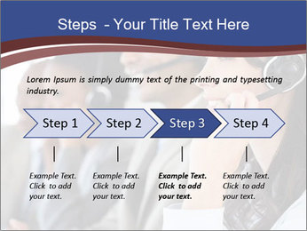 Young employee PowerPoint Template - Slide 4