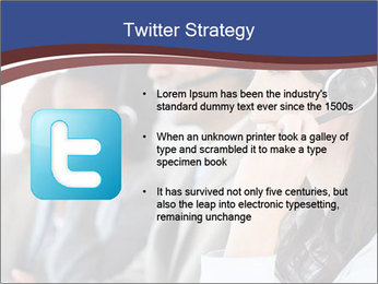 Young employee PowerPoint Template - Slide 9