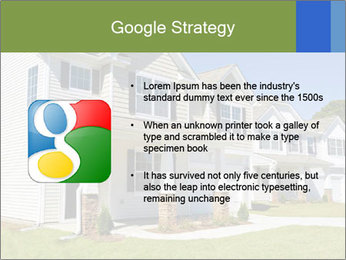 Street of residential houses PowerPoint Templates - Slide 10