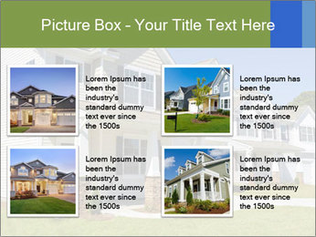 Street of residential houses PowerPoint Templates - Slide 14