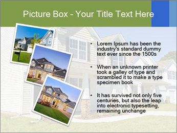 Street of residential houses PowerPoint Templates - Slide 17