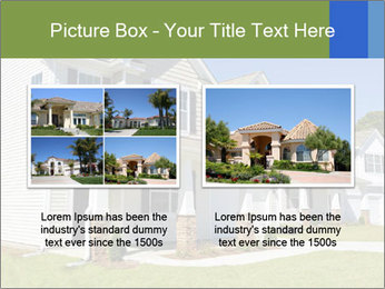 Street of residential houses PowerPoint Templates - Slide 18