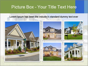 Street of residential houses PowerPoint Templates - Slide 19