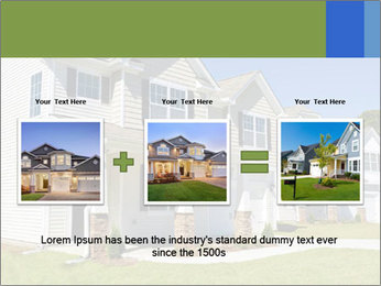 Street of residential houses PowerPoint Templates - Slide 22