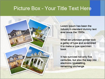 Street of residential houses PowerPoint Templates - Slide 23