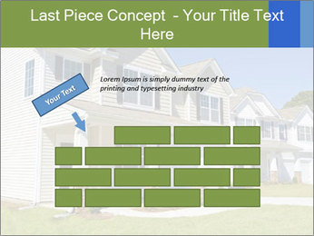 Street of residential houses PowerPoint Templates - Slide 46