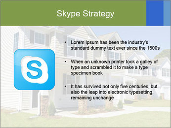 Street of residential houses PowerPoint Templates - Slide 8
