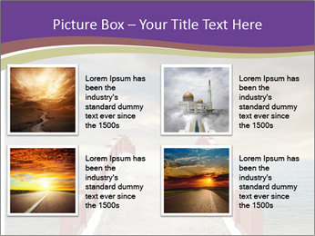 An exotic masonry bridge PowerPoint Template - Slide 14
