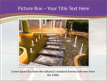 An exotic masonry bridge PowerPoint Template - Slide 15