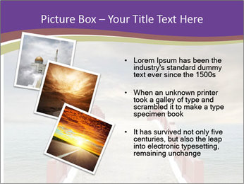 An exotic masonry bridge PowerPoint Template - Slide 17