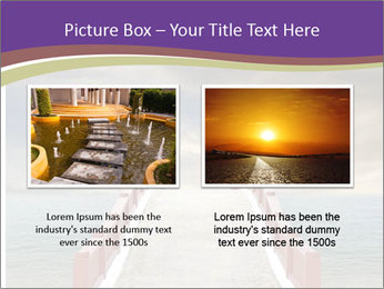 An exotic masonry bridge PowerPoint Template - Slide 18