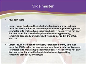 An exotic masonry bridge PowerPoint Template - Slide 2