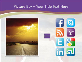 An exotic masonry bridge PowerPoint Template - Slide 21