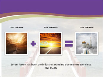 An exotic masonry bridge PowerPoint Template - Slide 22