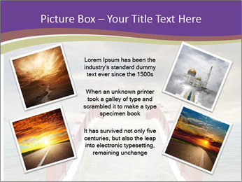 An exotic masonry bridge PowerPoint Template - Slide 24