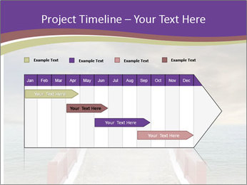 An exotic masonry bridge PowerPoint Template - Slide 25