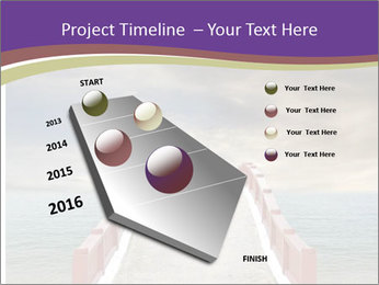 An exotic masonry bridge PowerPoint Template - Slide 26