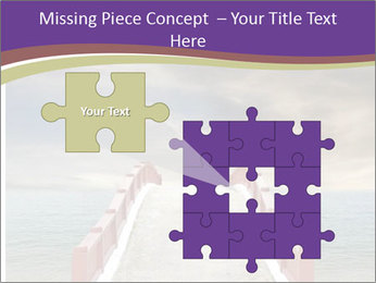 An exotic masonry bridge PowerPoint Template - Slide 45