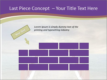 An exotic masonry bridge PowerPoint Template - Slide 46