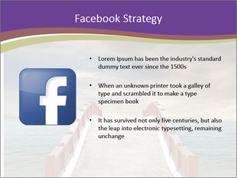 An exotic masonry bridge PowerPoint Template - Slide 6