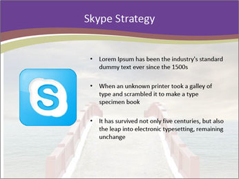 An exotic masonry bridge PowerPoint Template - Slide 8