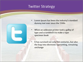 An exotic masonry bridge PowerPoint Template - Slide 9
