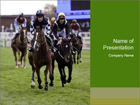 Jockey PowerPoint Templates