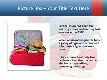 Suitcase crammed PowerPoint Template - Slide 13