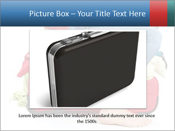 Suitcase crammed PowerPoint Template - Slide 15