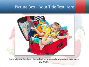 Suitcase crammed PowerPoint Template - Slide 16
