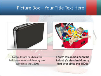 Suitcase crammed PowerPoint Template - Slide 18