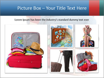 Suitcase crammed PowerPoint Template - Slide 19