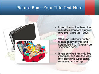 Suitcase crammed PowerPoint Template - Slide 20