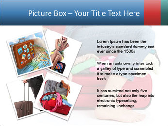 Suitcase crammed PowerPoint Templates - Slide 23