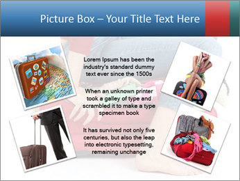 Suitcase crammed PowerPoint Template - Slide 24